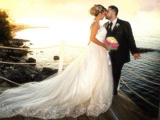 Le nozze di Vincenzo e Imane