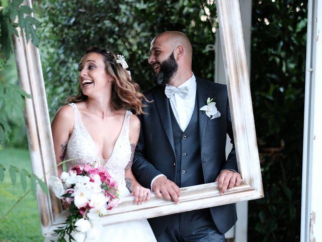 Le nozze di Alessio e Giorgia