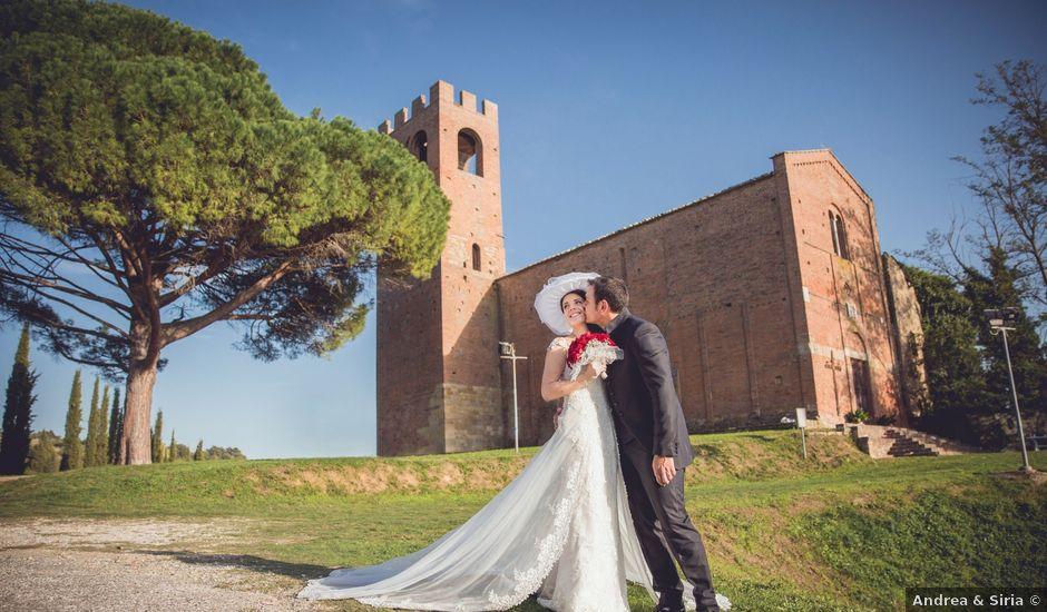 Il matrimonio di Cosimo e Irene a San Miniato, Pisa