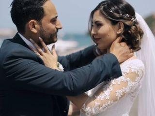 Le nozze di Melania  e Gianluca