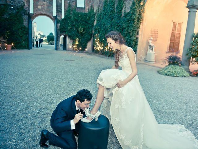 Il matrimonio di Mattia e Celeste a Bergamo, Bergamo 152