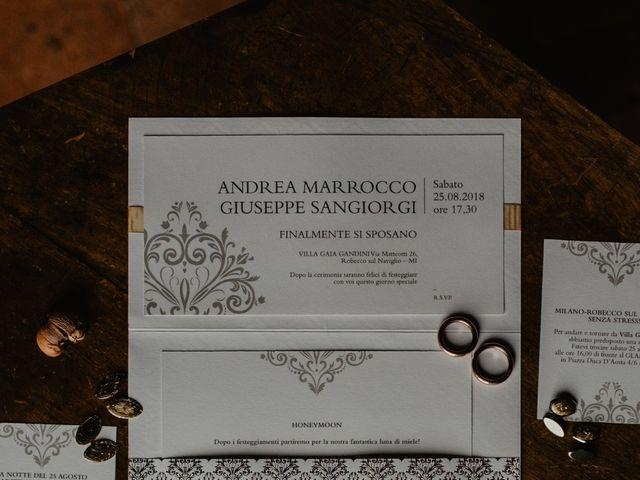 Il matrimonio di Andrea e Pino a Robecco sul Naviglio, Milano 5