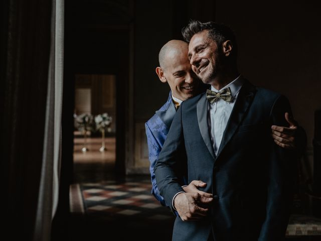 Il matrimonio di Andrea e Pino a Robecco sul Naviglio, Milano 1