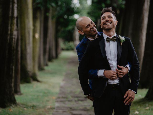 Il matrimonio di Andrea e Pino a Robecco sul Naviglio, Milano 26