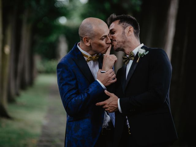 Il matrimonio di Andrea e Pino a Robecco sul Naviglio, Milano 27