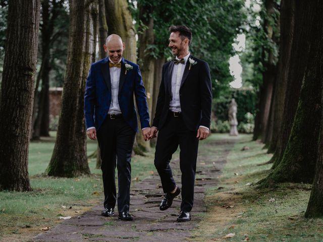 Il matrimonio di Andrea e Pino a Robecco sul Naviglio, Milano 30