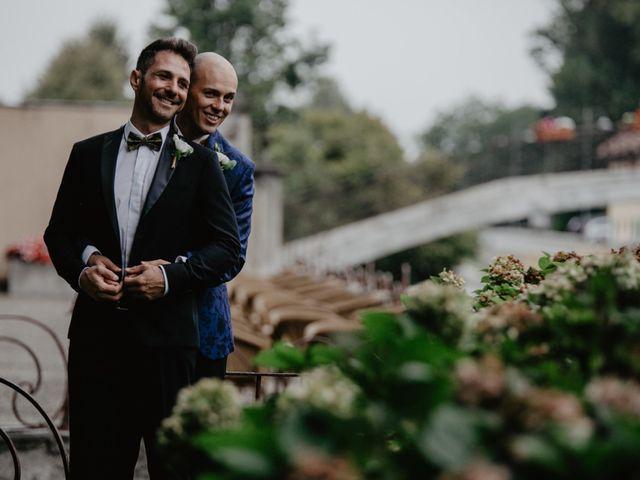 Il matrimonio di Andrea e Pino a Robecco sul Naviglio, Milano 35