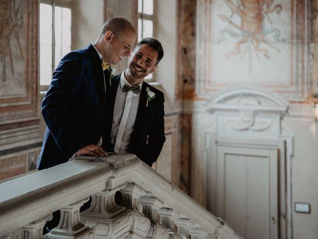 Il matrimonio di Andrea e Pino a Robecco sul Naviglio, Milano 36