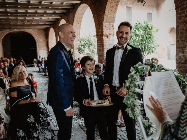 Il matrimonio di Andrea e Pino a Robecco sul Naviglio, Milano 51