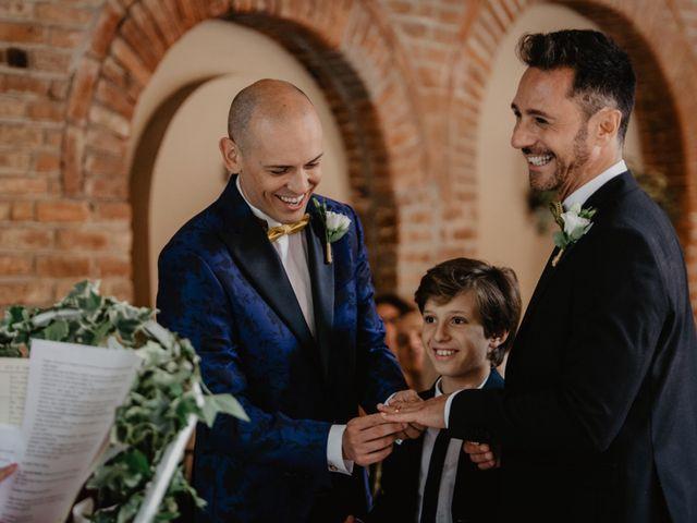 Il matrimonio di Andrea e Pino a Robecco sul Naviglio, Milano 52