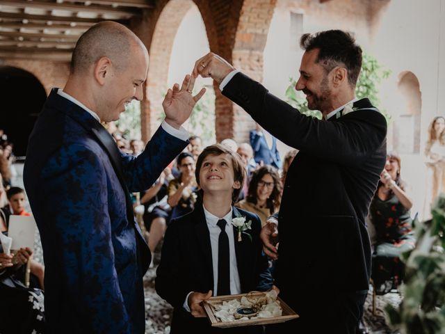 Il matrimonio di Andrea e Pino a Robecco sul Naviglio, Milano 54