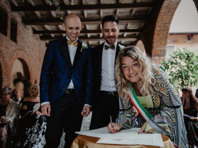 Il matrimonio di Andrea e Pino a Robecco sul Naviglio, Milano 60
