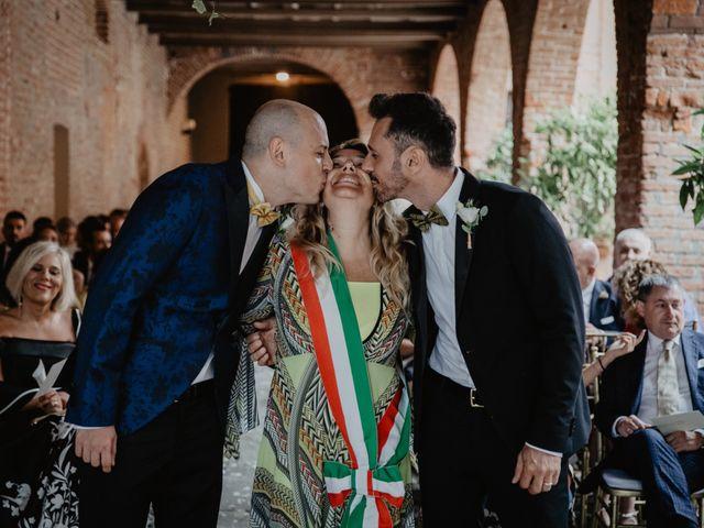 Il matrimonio di Andrea e Pino a Robecco sul Naviglio, Milano 61