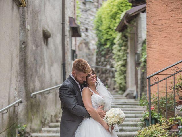 Il matrimonio di Emanuele e Francesca a Mergozzo, Verbania 26