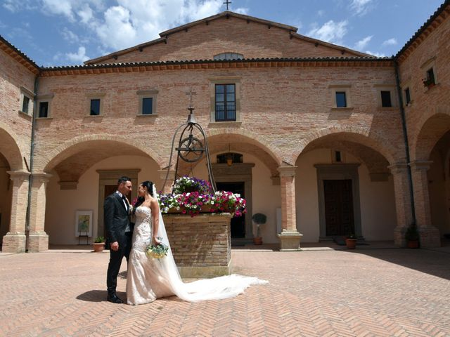 Il matrimonio di Antonio e Elisabetta a Gubbio, Perugia 29