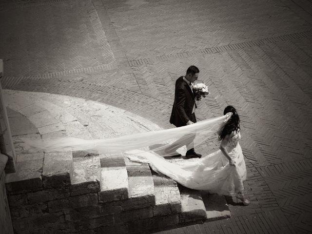 Il matrimonio di Antonio e Elisabetta a Gubbio, Perugia 34