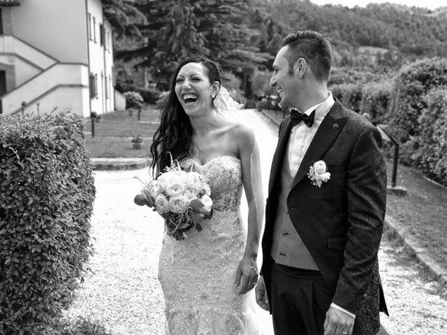 Il matrimonio di Antonio e Elisabetta a Gubbio, Perugia 42