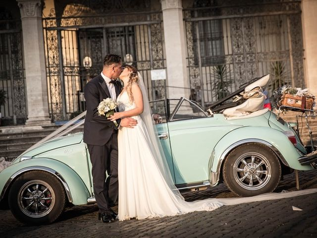 Il matrimonio di Thomas e Silvia a Trevignano Romano, Roma 3