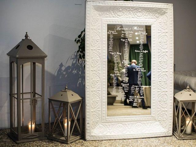 Il matrimonio di Thomas e Silvia a Trevignano Romano, Roma 25