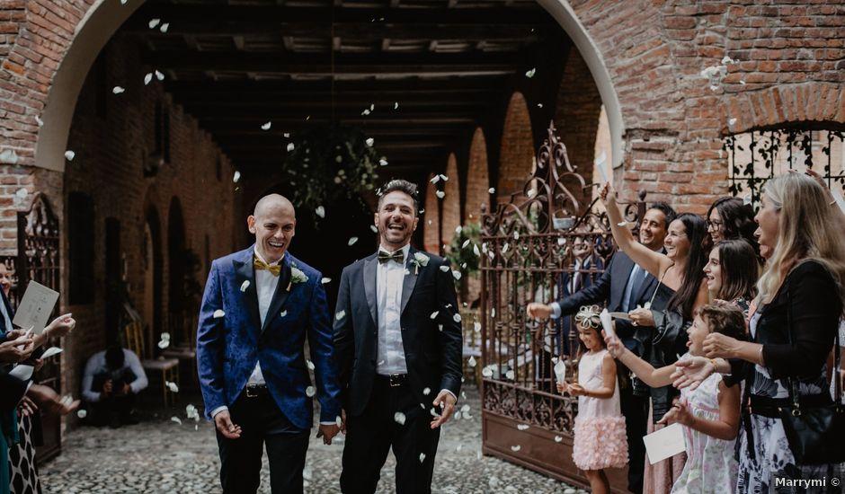 Il matrimonio di Andrea e Pino a Robecco sul Naviglio, Milano