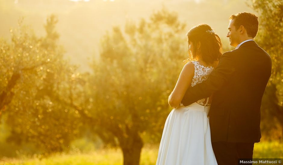 Il matrimonio di Marlene e Gabriele a Mosciano Sant'Angelo, Teramo