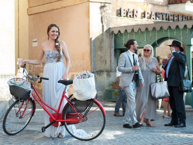 Il matrimonio di Francesc e Lara a Trevignano Romano, Roma 33