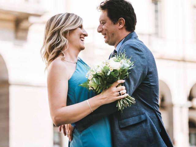 Il matrimonio di Davide e Flora a Gressan, Aosta 8