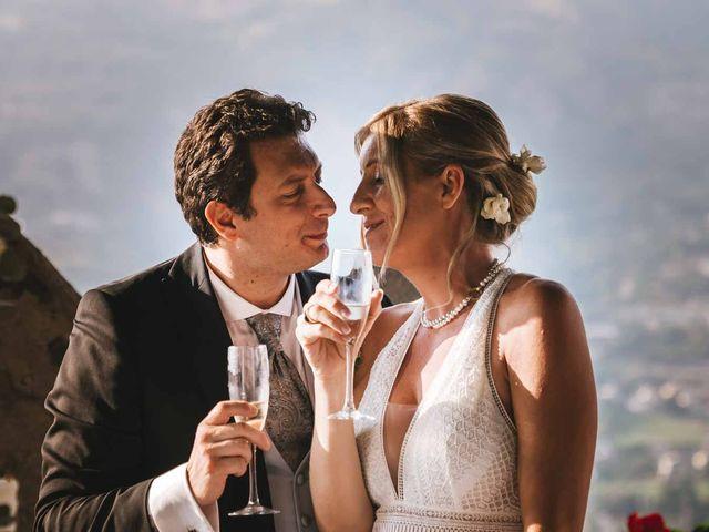 Il matrimonio di Davide e Flora a Gressan, Aosta 42