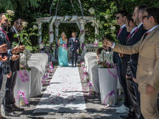 Le nozze di Vins e Ross