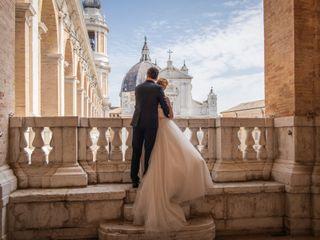 Le nozze di Chiara e Artem