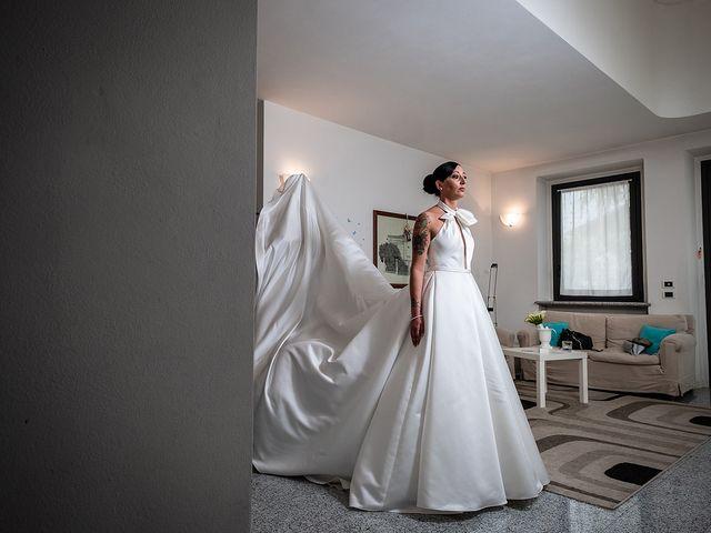 Il matrimonio di Alex e Carla a Gattico, Novara 10