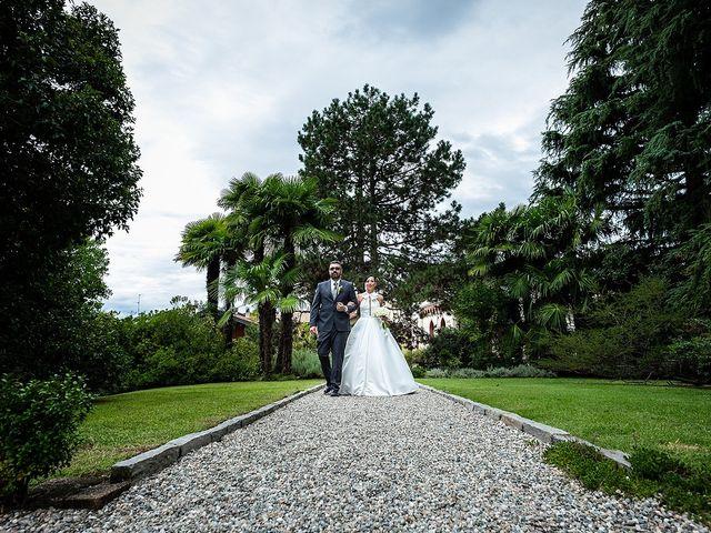 Il matrimonio di Alex e Carla a Gattico, Novara 14