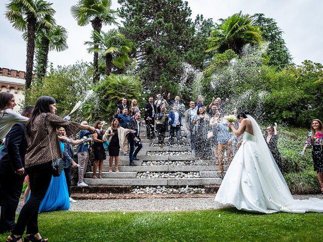 Il matrimonio di Alex e Carla a Gattico, Novara 21