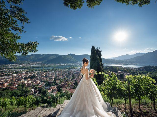 Il matrimonio di Vittorio e Alice a Calolziocorte, Lecco 37