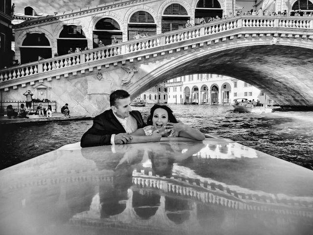 Il matrimonio di Verzan e Monica a Venezia, Venezia 51