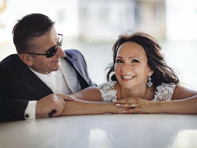 Il matrimonio di Verzan e Monica a Venezia, Venezia 53