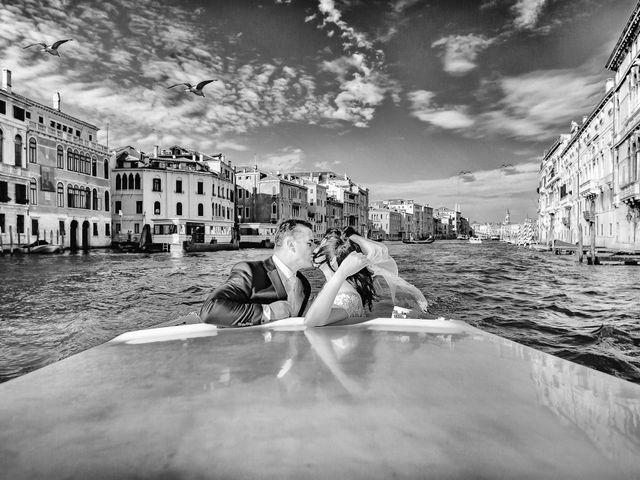 Il matrimonio di Verzan e Monica a Venezia, Venezia 55