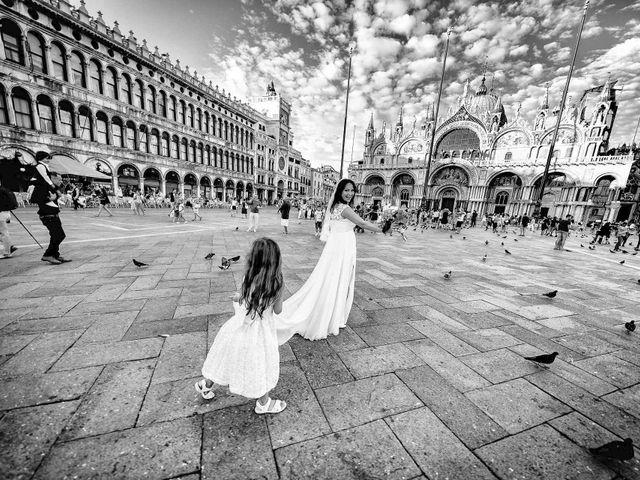 Il matrimonio di Verzan e Monica a Venezia, Venezia 70