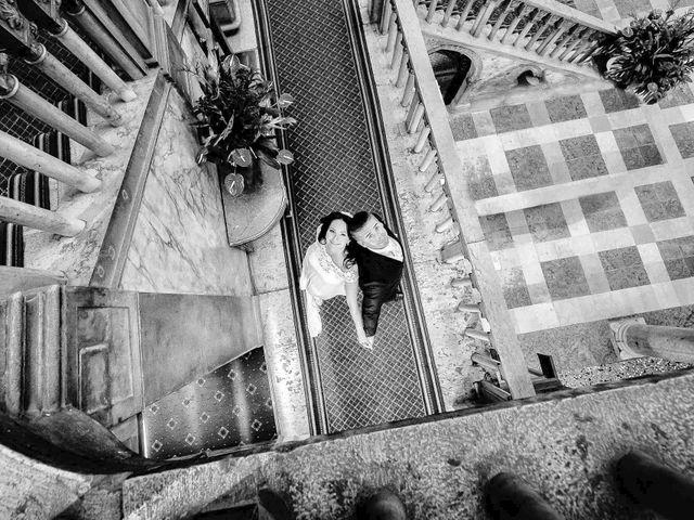 Il matrimonio di Verzan e Monica a Venezia, Venezia 74