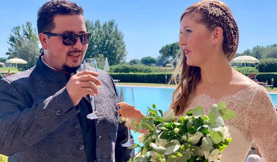 Il matrimonio di Alessandro e Azzurra a Cerreto Guidi, Firenze
