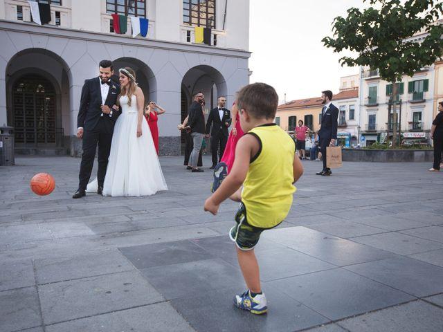 Il matrimonio di Michele e Simona a Pompei, Napoli 57