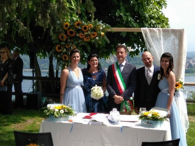 Il matrimonio di Domenico Di Liello e Nicla Basso a Arona, Novara 17