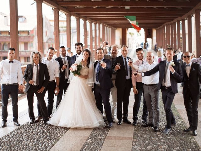 Il matrimonio di Daniele e Francesca a Bassano del Grappa, Vicenza 24