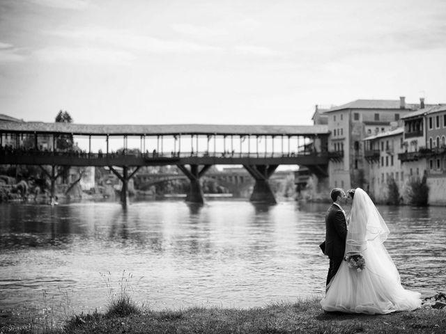 Il matrimonio di Daniele e Francesca a Bassano del Grappa, Vicenza 28
