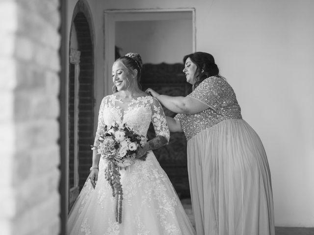 Il matrimonio di Damiano e Veronica a Canossa, Reggio Emilia 14