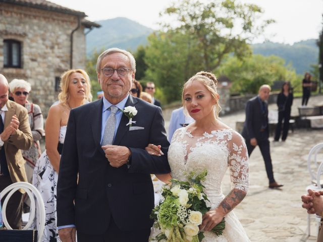 Il matrimonio di Damiano e Veronica a Canossa, Reggio Emilia 19