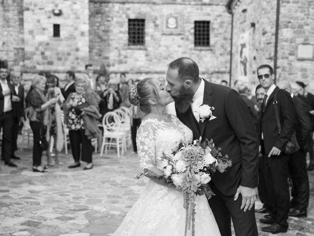 Il matrimonio di Damiano e Veronica a Canossa, Reggio Emilia 22