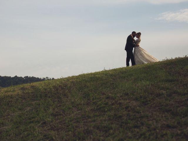 Il matrimonio di Damiano e Veronica a Canossa, Reggio Emilia 30