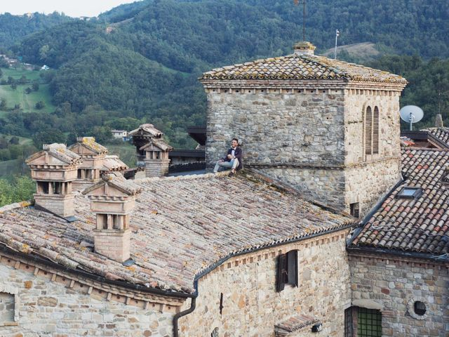 Il matrimonio di Damiano e Veronica a Canossa, Reggio Emilia 33