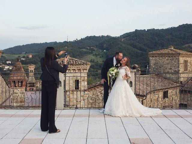 Il matrimonio di Damiano e Veronica a Canossa, Reggio Emilia 34
